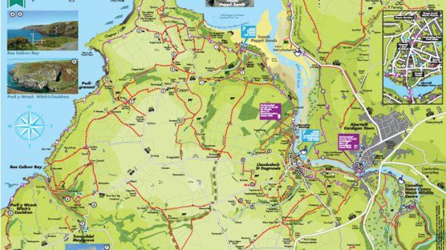 Walking Map North Pembrokeshire